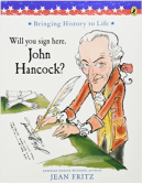 Will you sign here John Hancock bookcover