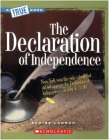 Declaration of Independence bookcover